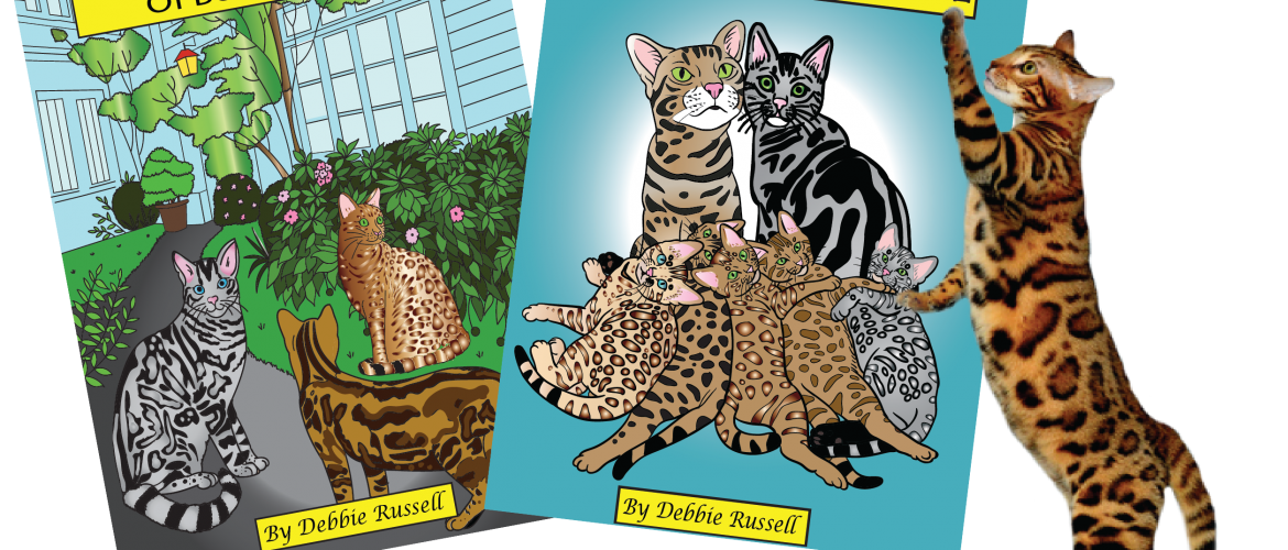 Worlds First Bengal Cat Coloring Book Now On Sale 2